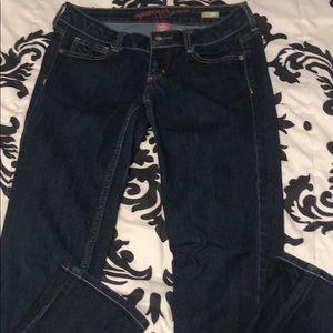 Denim - Dark bootcut jeans